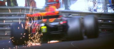 Kanadčan Nicholas Latifi in Italijan Luca Ghiotto v Formuli 2 pometla s tekmeci